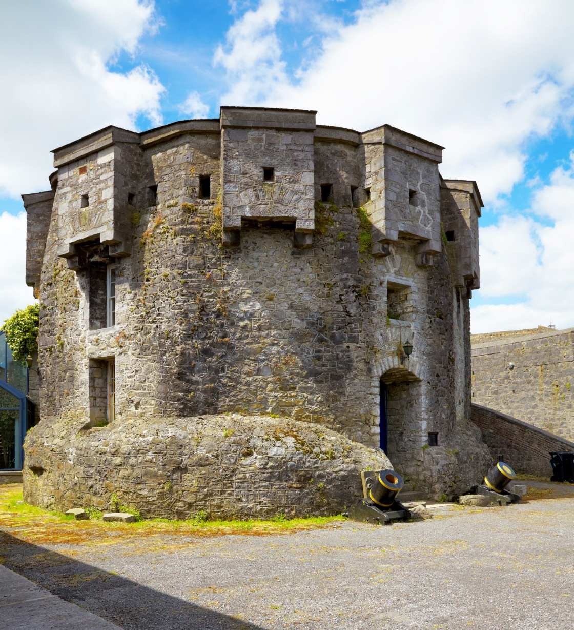'Athlone castle in summer, Co. Westmeath, Ireland.' - Westmeath